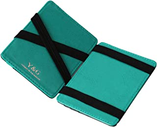 Y&G Men's Fashion Magic Wallet Credit 5 Id Case Holder 10 Color Available