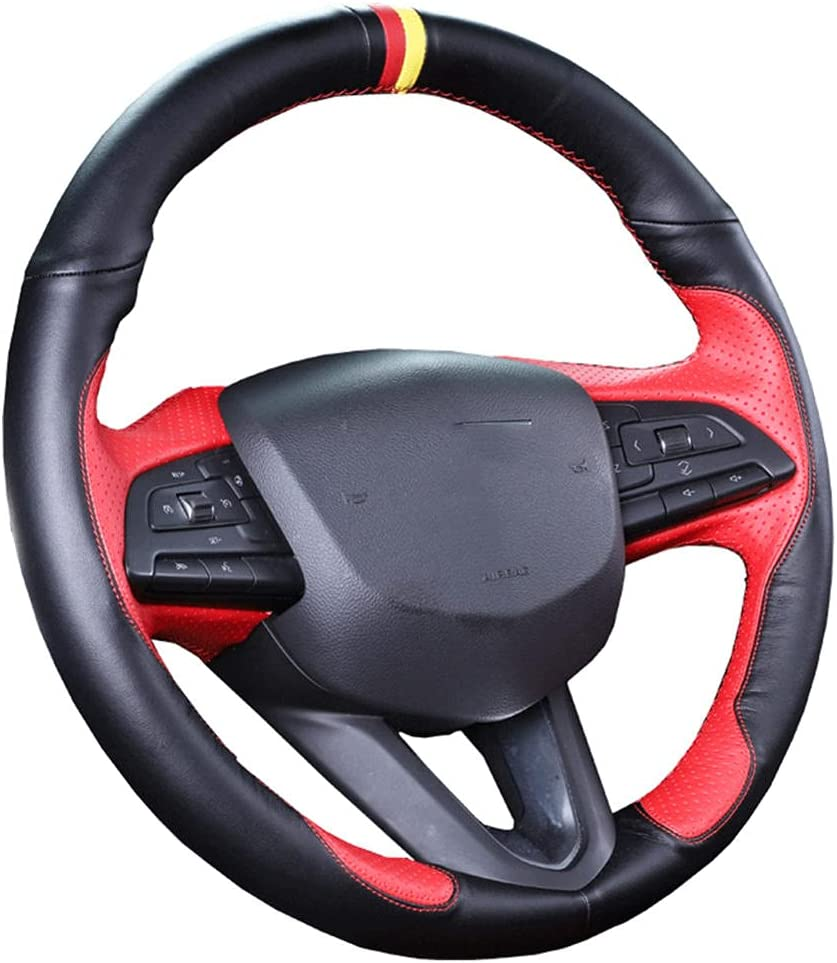 New York Mall VIdisp Hand Sewn Max 85% OFF car Steering Wheel for C CTS Cadillac ATS Cover