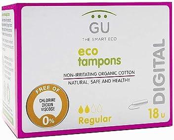 Tampones digitales. Algodón ecológico (Regular): Amazon.es ...