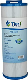 Tier1 Waterway 817-4050 Spa Filter, Teleweir 50, Pleatco PWW50L, Filbur FC-0172, Unicel 4CH-949 Comparable Replacement Spa Filter Cartridge