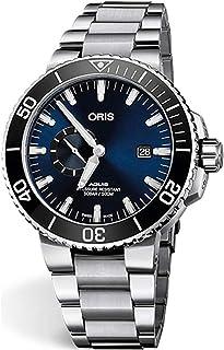 Oris Aquis Small Second, Date Blue Dial 45.5mm Stainless Steel Men`s Watch