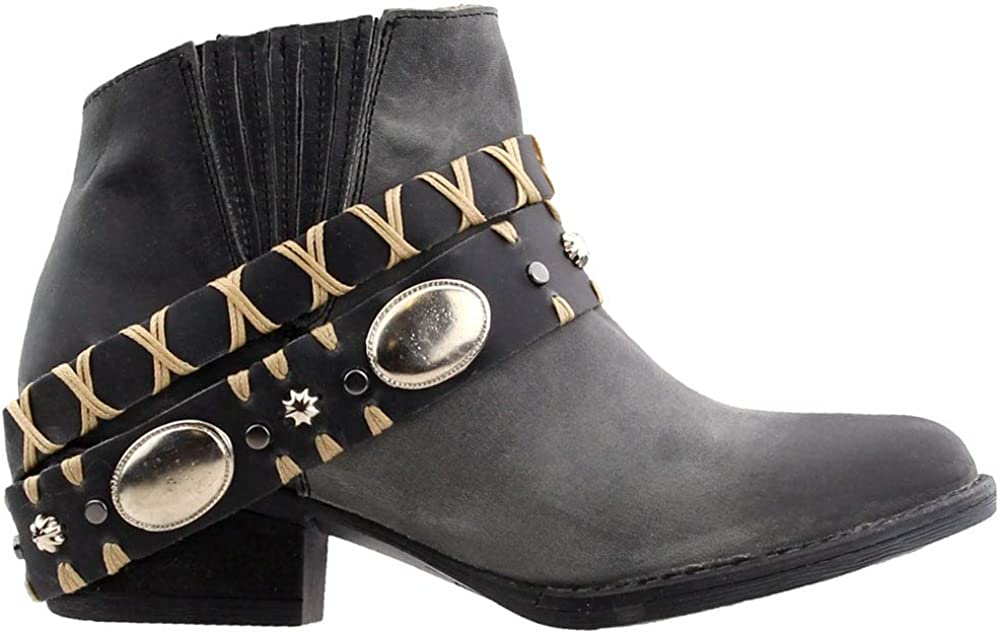 Circle Ranking TOP11 G Women's Harness Max 51% OFF Western Round - Toe Booties Q5064