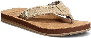 حذاء رجالي من Sanuk مطبوع عليه Fraid غير ناعم