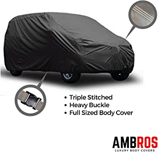 Ambros Grey Car Body Cover Triple Stiched for - Maruti Alto K10 / Alto 800 / Alto