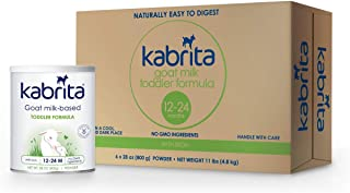 Kabrita Goat Milk Toddler Formula, 28 oz, 6Count
