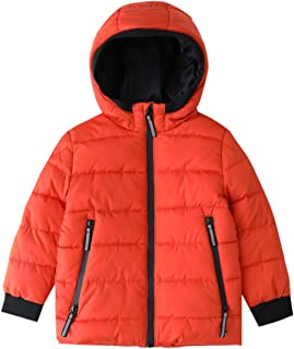 Hiheart Boys Thick Padded Winter Coat Warm Hooded Jacket
