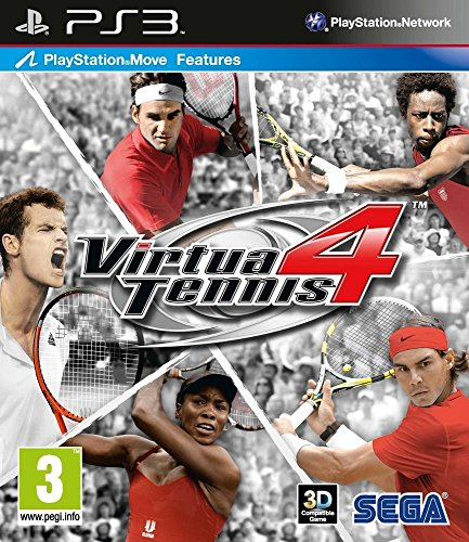 Virtua Tennis 4 (jeu PS Move) [Importación francesa]
