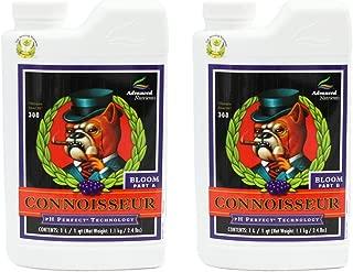 Advanced Nutrients 1660-14AB pH Perfect Connoisseur Bloom Part A+B, 1 Liter, Brown/A