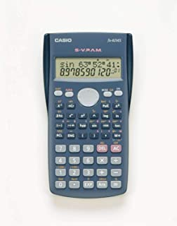 Calculadora Científica 240 Funções, Casio, 59106, Azul