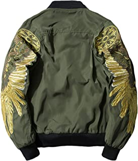 Best mens embroidered jacket Reviews