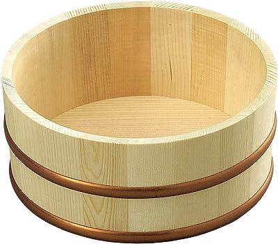 山下工芸(Yamashita kogei) 湯おけ ナチュラル 約φ21×H10cm 日本製 湯桶 小 522502