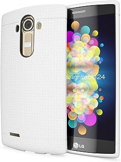 fde915db3b6 NALIA Funda Carcasa Compatible con LG G4, Protectora Movil Silicona Fina  Bumper Estuche con Puntos