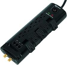 Innovera IVR71657 Surge Protector, 10 Outlets, 6, Cord, 2880 J, Plastic, Black, Plastic
