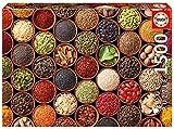 Educa Borras - Genuine Puzzles, Puzzle 1.500 piezas, Especias y condimentos (17666)...