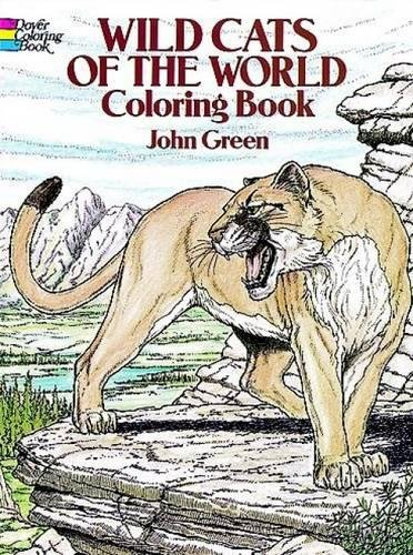Wild Cats of the World Coloring Book (Dover Nature Coloring Book)