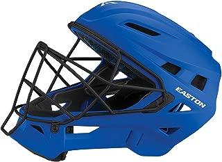 EASTON ELITE X Baseball Catchers Helmet   Matte Color   2020   High Impact Absorption Foam   Moisture Wicking BIODRI liner   High Impact Resistant ABS Shell   Steel Cage   NOCSAE Approved