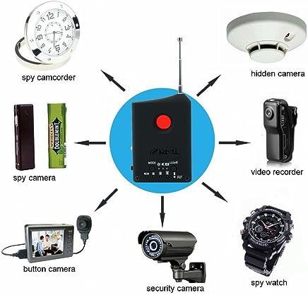 Anti-Spy Detector RF Signal Detector Hidden Camera GSM Audio Bug Detector GPS Lens RF