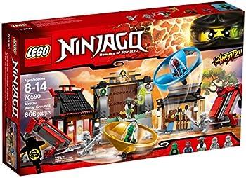 LEGO Ninjago Airjitzu Battle Grounds 666pcs Building Set - Building Games  8 Years  666 Piece s  14 Year s