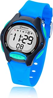 Reloj Digital para Niña Niño,Chicos Chicas Impermeabl Deportes al Aire Libre LED Multifuncionales Relojes de Pulsera con A...