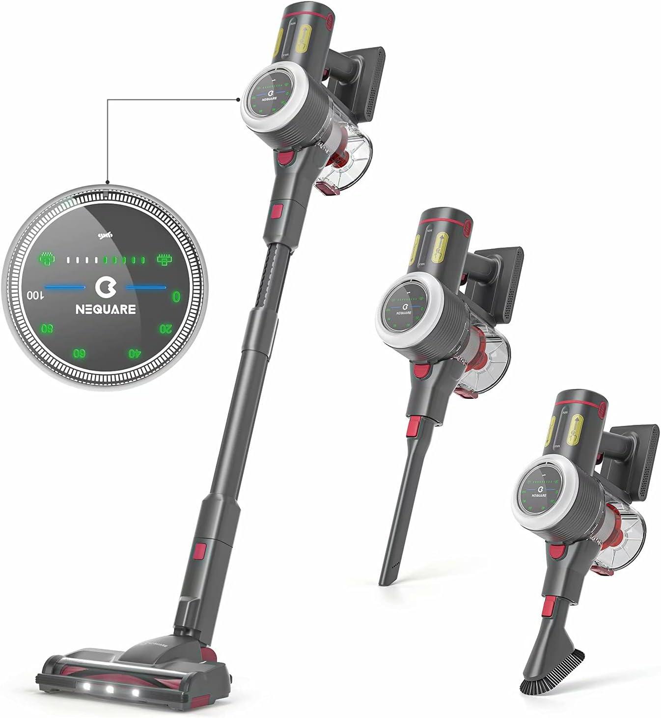 NEQUARE Cordless Vacuum Stick Vacuum Cleaner