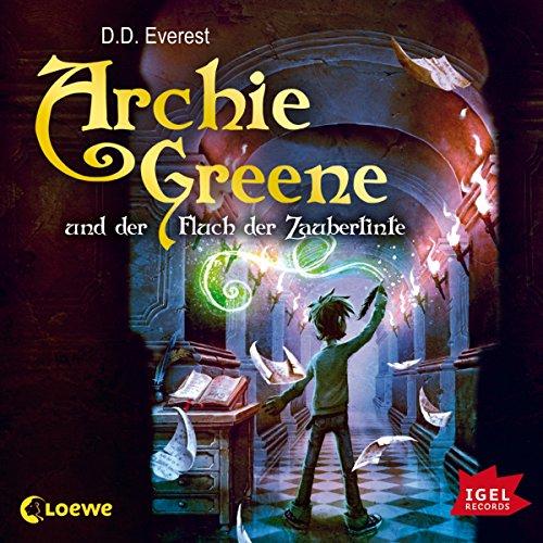 Archie Greene und der Fluch der Zaubertinte Titelbild
