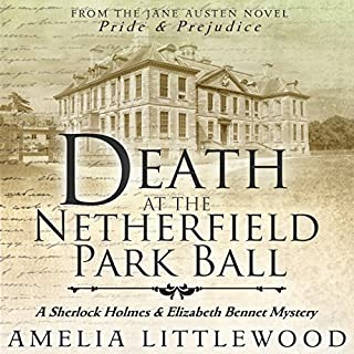 Death at the Netherfield Park Ball audiobook cover art
