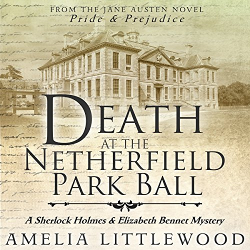 Death at the Netherfield Park Ball cover art