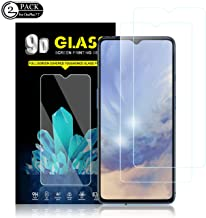 OnePlus 7T Screen Protector by YEYEBF, [2 Pack] Tempered Glass Screen Protector [Bubble-Free][HD-Clear][Anti-Scratch][Case-Friendly] Screen Protector Glass for OnePlus 7T