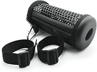 YOTHG Bike Mount Molded Case Cover Portable Case Bag Cover Sleeve Pouch For JBL Flip 3 Bluetooth Speaker (18.5 88 cm,black)
