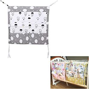 Crib Hanging Storage Bag  Enjoyfeel Baby Nursery Changing Storage Clothings Diapers Blankets Toys Organizer Bag  Rain