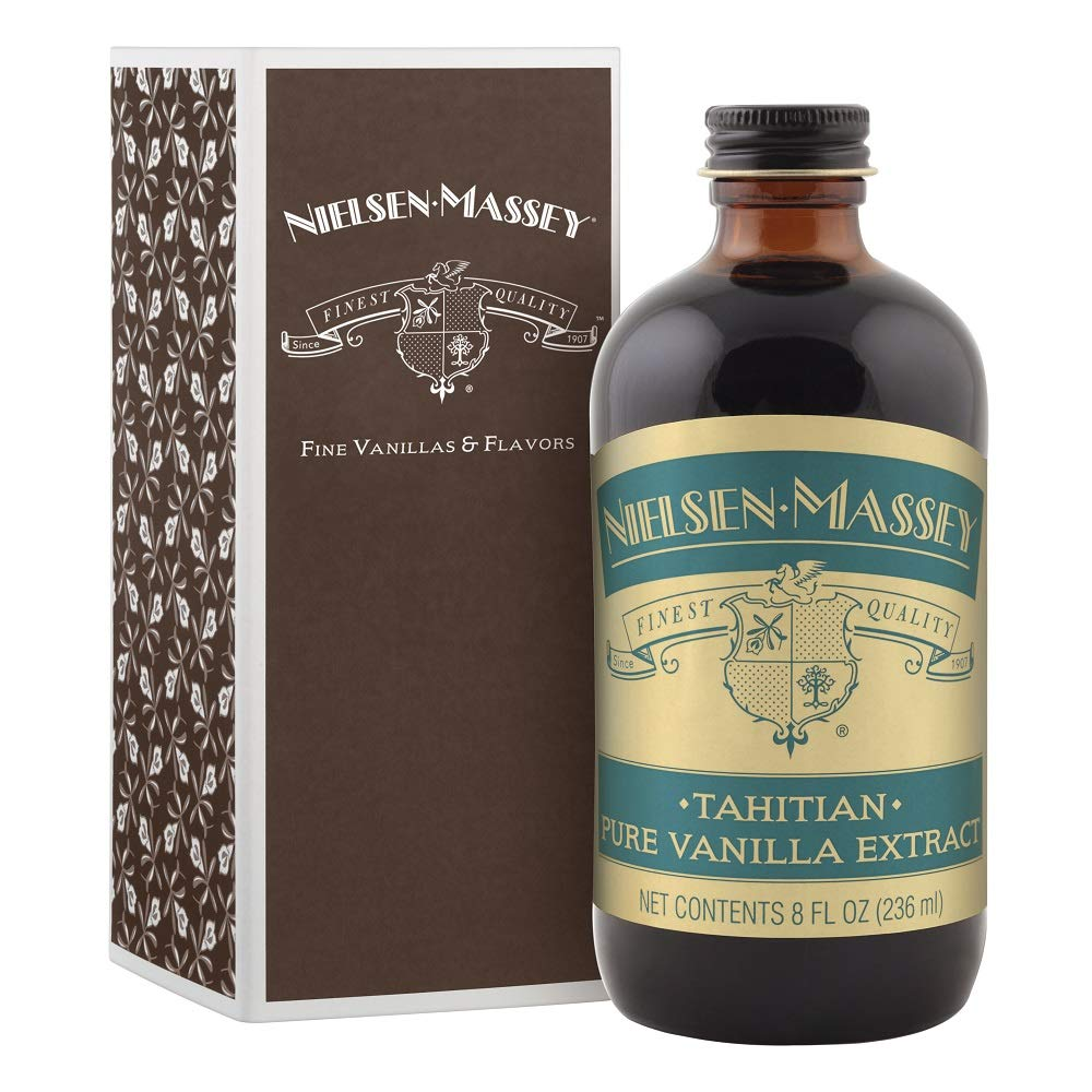 Nielsen Massey Tahitian Pure Vanilla Extract, with Gift Box, 8 ounces