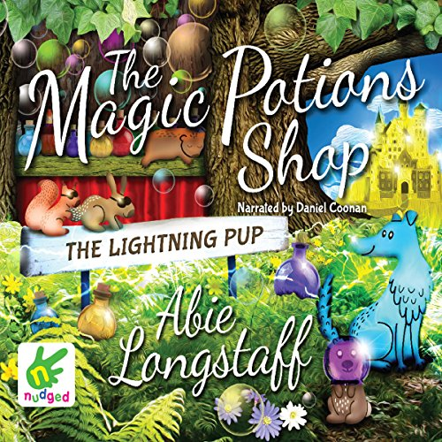 The Lightning Pup audiobook cover art