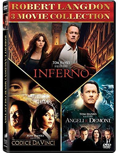 Robert Langdon Trilogia (Box 3 Dvd Inferno,Angeli E Demoni, Il Codice Da Vinci)