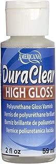 Deco Art DS128-3 2 oz Duraclear High-Gloss Varnish