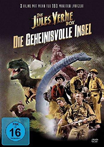 Jules Verne - 3 Filme - 1 DVD (Die Reise zur geheimnisvollen Insel, USA 1951 - Die geheimnisvolle Insel 2 , USA 2010 - Der Geist von Slumber Mountain , USA 1918)