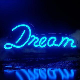 Koicaxy Neon Sign, Led Neon Light Wall Light Wall Decor, Battery or USB Powered Light Up Acrylic Neon Sign for Bedroom, Ki...