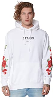 Rosebed Hoodie - White - - Mens - Fleece - Hoodies -
