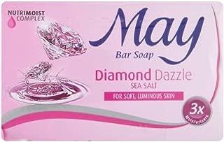 Malaysia May Bar Soap 85g (Diamond Dazzle Sea Salt, 9 Bar)
