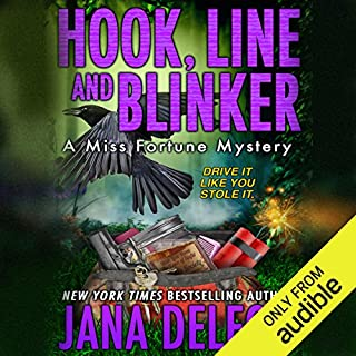 Hook, Line and Blinker                   Written by:                                                                                                                                 Jana DeLeon                               Narrated by:                                                                                                                                 Cassandra Campbell                      Length: 7 hrs and 34 mins     8 ratings     Overall 5.0