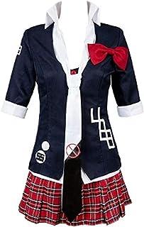 Double Villages Anime Danganronpa Junko Enoshima Cosplay Costume Polyester Uniform Costume Suit