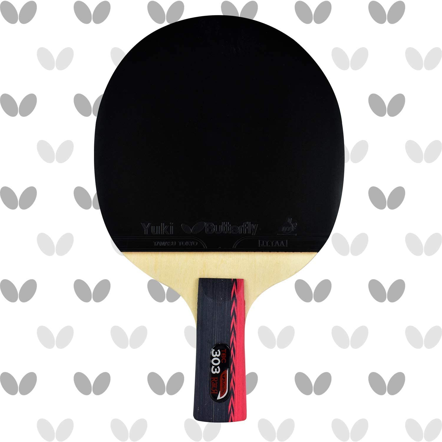 Butterfly B303CS Chinese Penhold Table 5 Limited time trial price ☆ popular Tennis Ser Racket China -