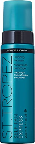 St. Tropez Self Tan Express Advanced Bronzing Mousse, 6.7 Fl Oz