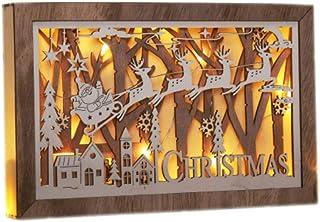 Gravidus Drewniana dekoracja stołu bożonarodzeniowego