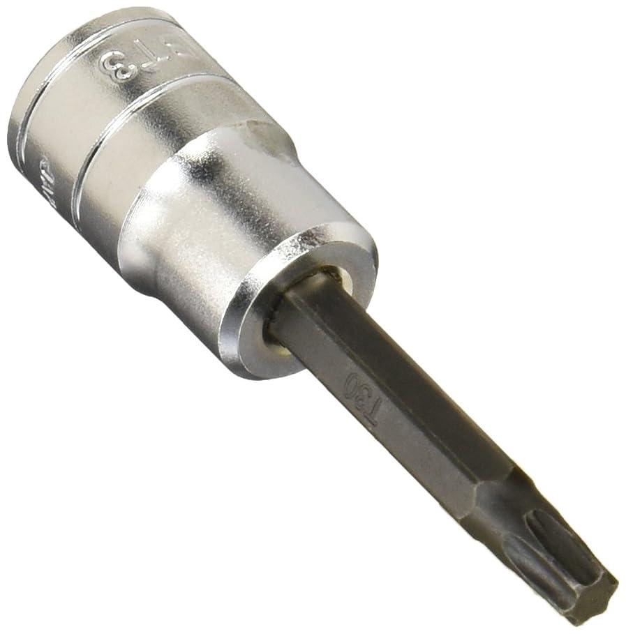 デザート商業のワンダーKTC(ケーテーシー) 9.5mm (3/8インチ) T型 トルクス ビットソケット T30 BT3T30
