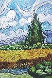 Vincent van Gogh Cuaderno: Campo de Trigo con Cipreses   Perfecto Para Tomar Notas   Diario Elegante   Ideal para la Escuela, el Estudio, Recetas o Contraseñas
