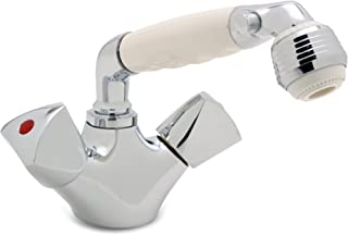 Ambassador Marine Trinidad- Head/Shower Combo Faucet (Classic White Sprayer)