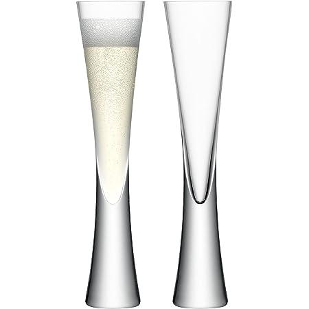 LSA MV17 Moya Champagne Flute 5.7 fl oz /H9.75in Clear x 2