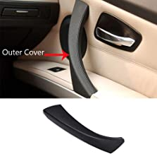TTCR-II Door handle Outer Covers Compatible with BMW 3 Series E90 E91 Black Right Front/Rear Interior Passenger Side Door Handle Outer Trim (Fits: 323 325 328 330 335 Sedan& Touring)