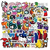50PCS Hot Game Stickers, Waterproof Stickers for Luggage, Skateboard, Notebook, Motorcycle, Laptop, Computer, Phone and Phone Case, Gifts for Kids