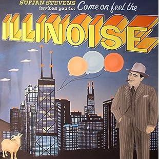 Sufjan Stevens - Illinoise -- Mini Poster Black Card Frame and Mount
